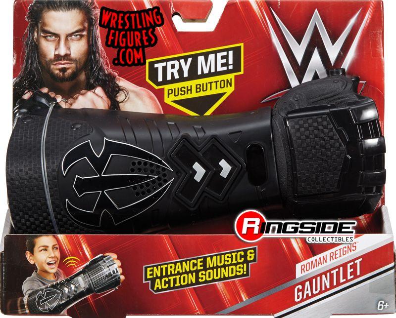 Roman Reigns Wwe Wrist Gauntlet Wwe Toy Wrestling Action
