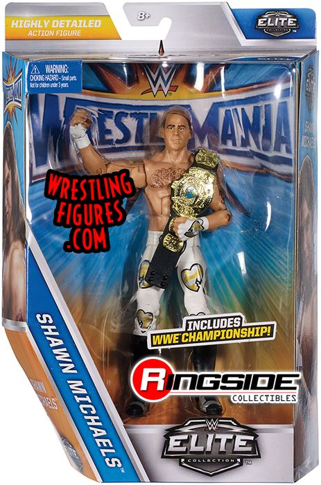 Shawn Michaels Wwe Elite Quot Wrestlemania 33 Quot Wwe Toy