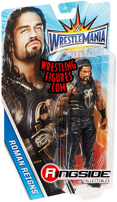 Roman Reigns Wwe Series Quot Wrestlemania 33 Quot Wwe Toy