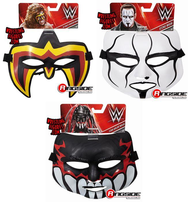 Wwe Toy Wrestling Masks By Mattel Includes Demon Finn