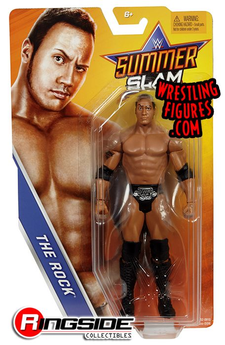 The Rock Wwe Series Quot Summerslam 2017 Quot Wwe Toy Wrestling