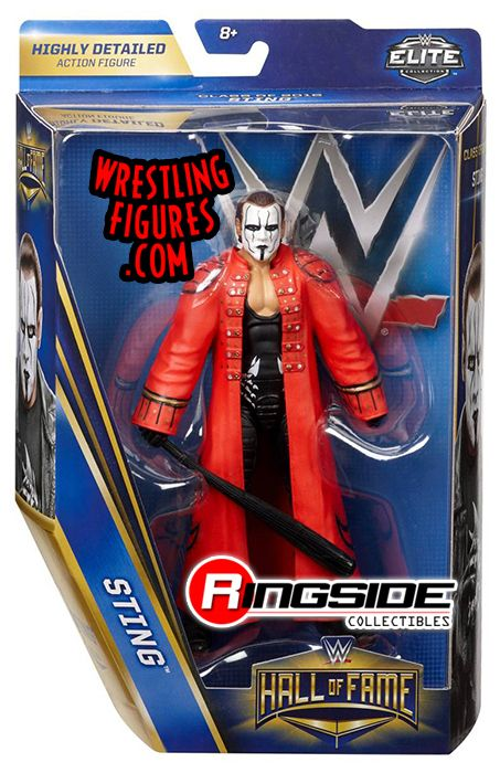 Sting Wwe Hall Of Fame Class Of 2016 Wwe Toy Wrestling