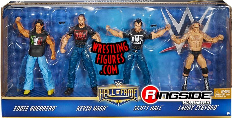 Wcw Nitro Notables Hall Of Fame 4 Pack Exclusive Wwe Toy