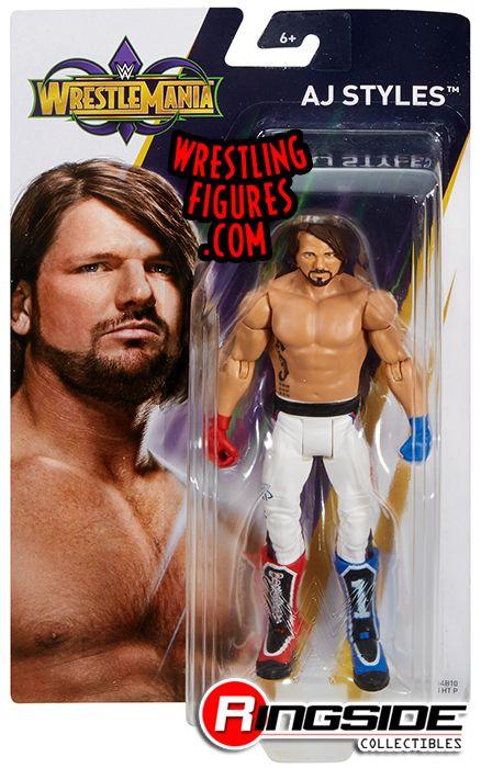 "AJ Styles - WWE Series ""WrestleMania 34"" Mmisc_422_aj_styles_P"