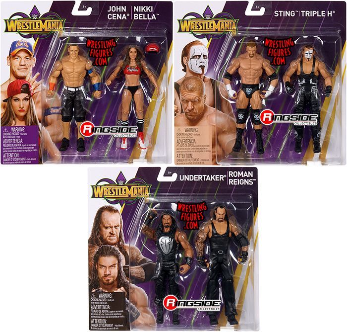 Image result for wrestlemania 34 mattel battle packs