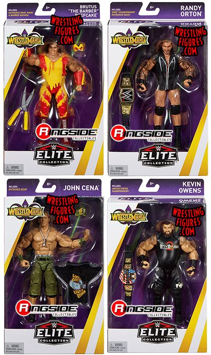 Wwe Elite Quot Wrestlemania 34 Quot Wwe Toy Wrestling Action