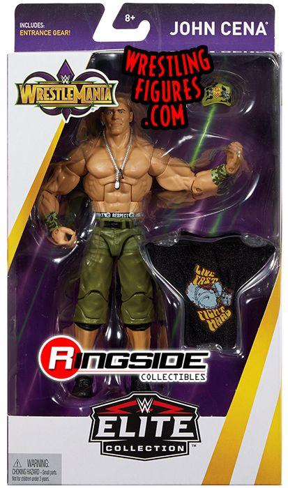 John Cena Wwe Elite Quot Wrestlemania 34 Quot Wwe Toy Wrestling