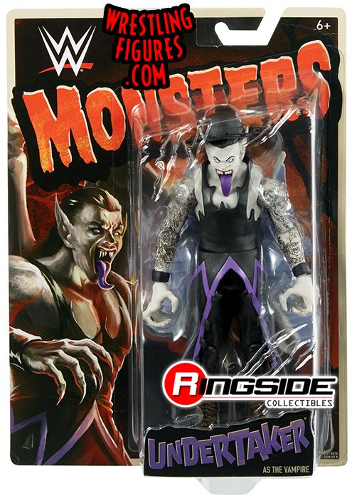 Undertaker Vampire Wwe Monsters Wwe Toy Wrestling