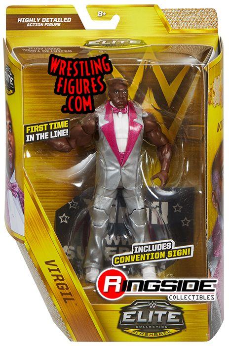 Virgil Wwe Elite Exclusive Wwe Toy Wrestling Action