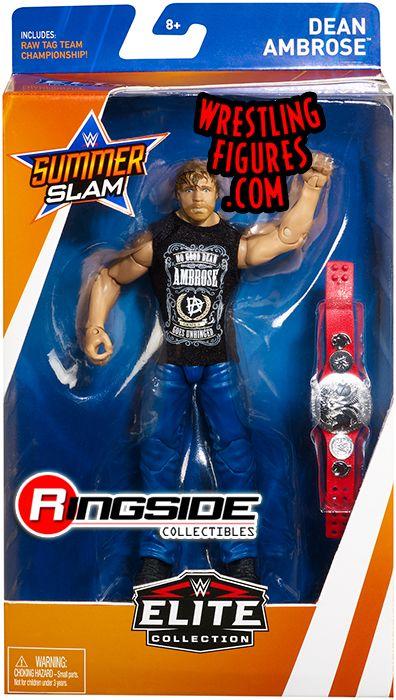 WWE Mattel Elite Dean Ambrose Summerslam Jon Moxley Aew Wrestling figure