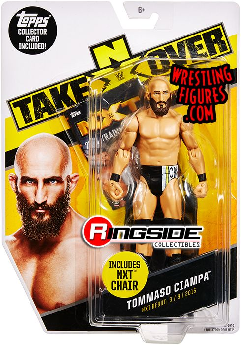 Tommaso Ciampa Nxt Takeover Series Exclusive Wwe Toy