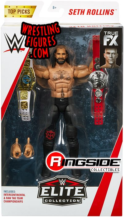 Seth Rollins Wwe Elite Quot Top Talent 2018 Quot Wwe Toy