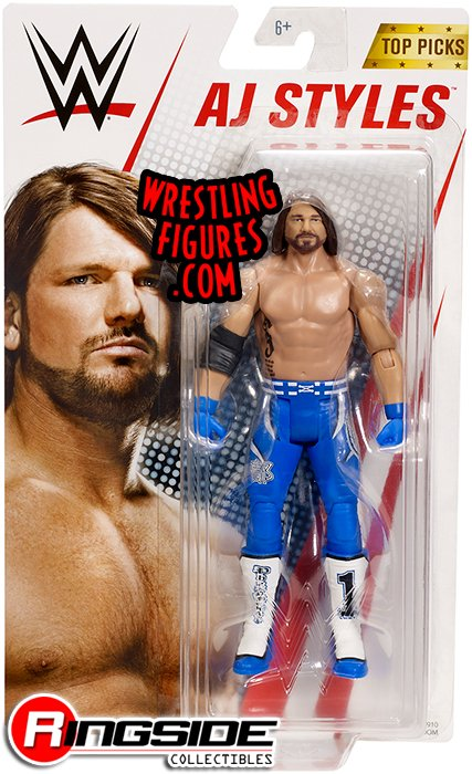 Aj Styles Wwe Series Quot Top Talent 2018 Quot Wwe Toy Wrestling
