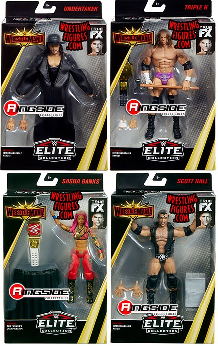 Wwe Elite Quot Wrestlemania 35 Quot Wwe Toy Wrestling Action
