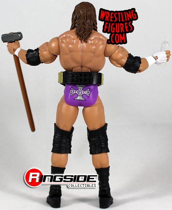Triple H-Elite Serie 35-figura De Lucha WWE Mattel