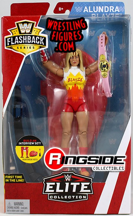 Alundra Blayze Wwe Elite Flashback Wwe Toy Wrestling