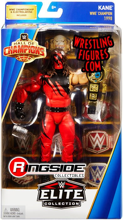 Kane Wwe Hall Of Champions Wwe Toy Wrestling Action