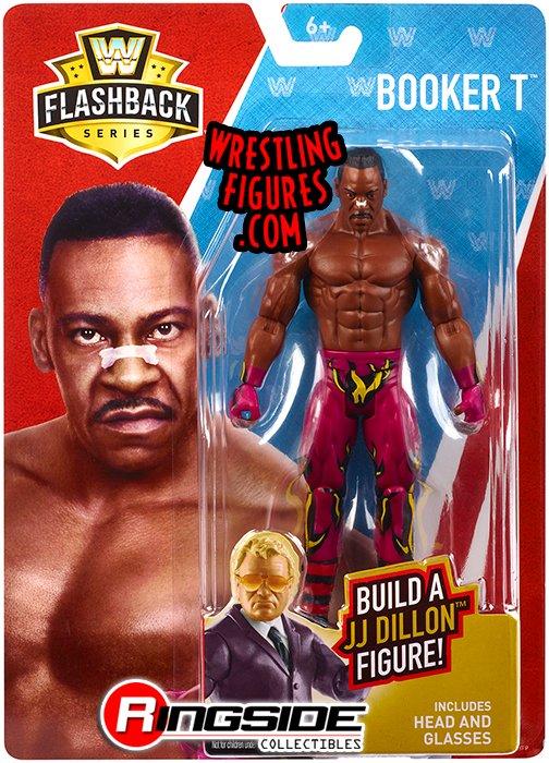 Booker T Jj Dillon Build A Figure Series Wwe Toy