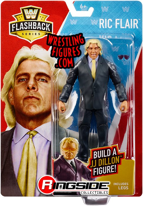 Ric Flair Jj Dillon Build A Figure Series Wwe Toy