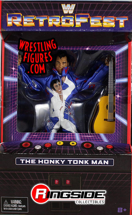 The Honky Tonk Man Wwe Elite Retrofest Wwe Toy Wrestling
