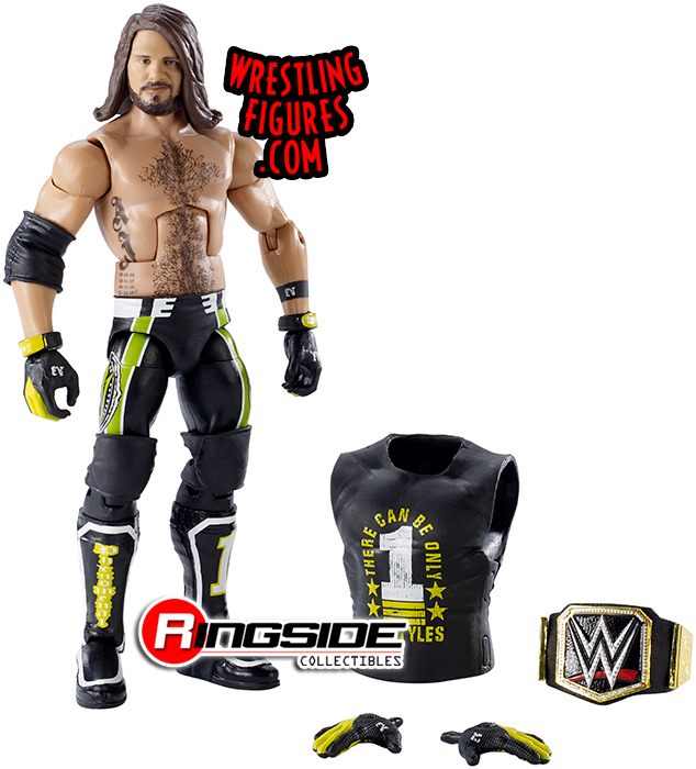 "WWE Wrestling wrekkin /""les Miz Action Figure"