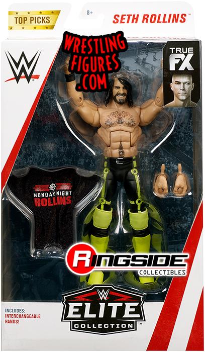 Mattel WWE Elite Series Top Picks Seth Rollins Action Figure 2018