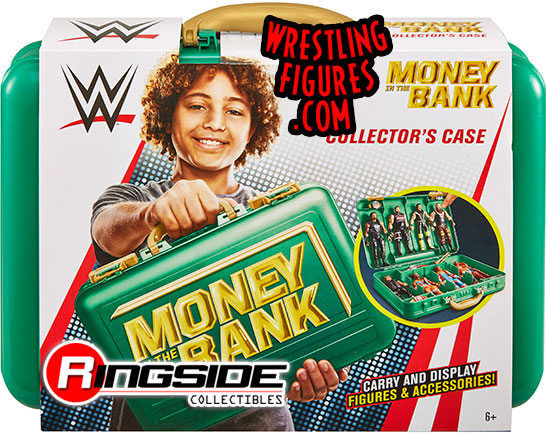 WWE Carrying Case Green Money In the Bank