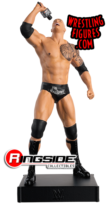 WWE The Rock Wrestling Figurine Issue 6 WWE Championship Figurine Collection