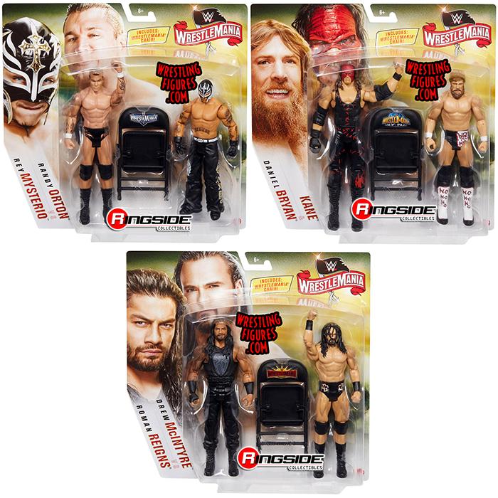 WWE Mattel Randy Orton Wrestlemania 36 Series figure loose
