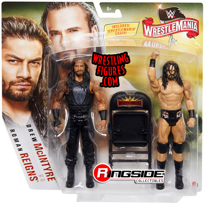 Roman Reigns Amp Drew Mcintyre Wwe Battle Packs