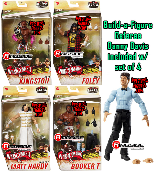 Wwe Elite Quot Wrestlemania 36 Quot Wwe Toy Wrestling Action