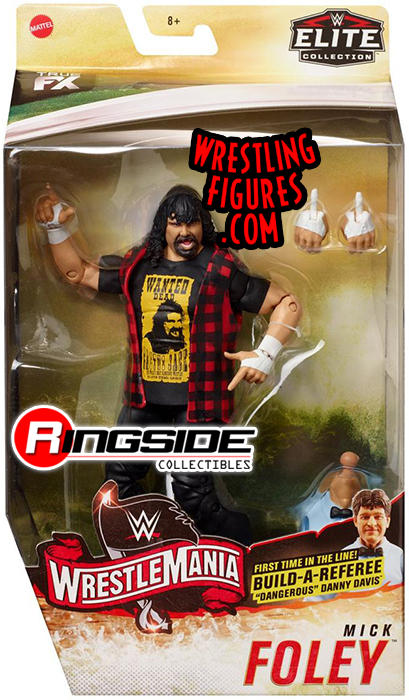 Mick Foley Wwe Elite Quot Wrestlemania 36 Quot Wwe Toy Wrestling