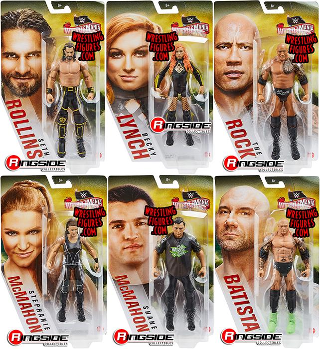 WWE Mattel Shane McMahon Wrestlemania 36 Series figure loose