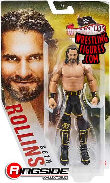 "WWE Series /""Top Talent 2019/"" Mattel Toy Wrestling Action Figure Seth Rollins"