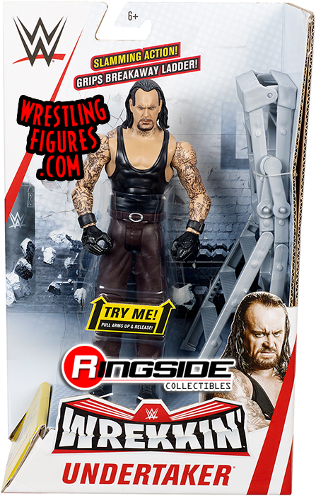 Undertaker Wwe Wrekkin Series 1 Wwe Toy Wrestling