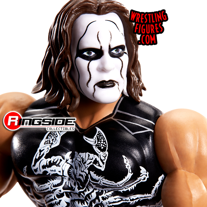 WWE Wrestling Masters of the WWE Universe Sting Action Figure