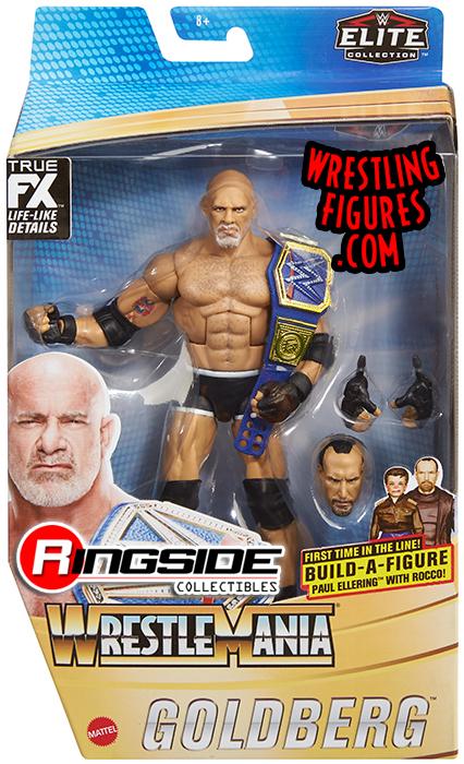 WWE Goldberg Wrestlemania Action Figure