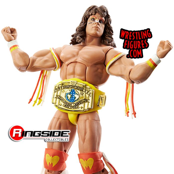 WWE ELITE 2021 Royal Rumble Exclusif Ultimate Warrior Legends 80 81 82 difficile à trouver