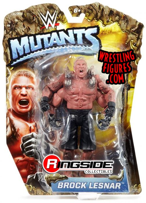 Brock Lesnar Wwe Mutants Wwe Toy Wrestling Action Figure