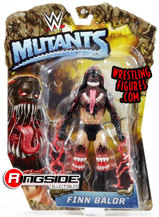 Finn Balor Demon Wwe Mutants Wwe Toy Wrestling Action