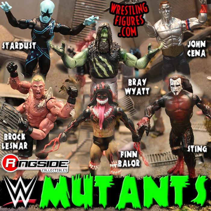 Mutants Wrestling MattelGet Wwe Infected Figures Toy Action By qVMpSUzG