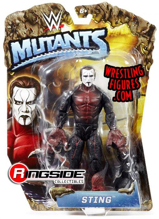 Sting Wwe Mutants Wwe Toy Wrestling Action Figure By Mattel