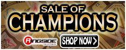Sale of Champions!