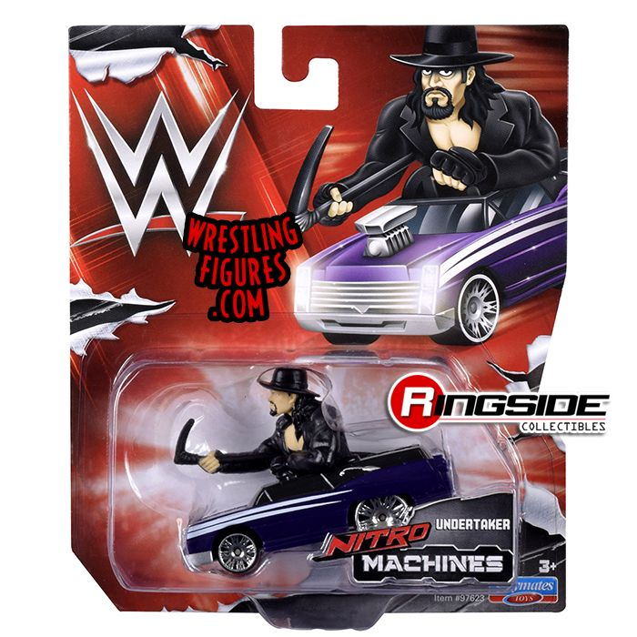 Undertaker Wwe Nitro Machines Toy Wrestling Car By