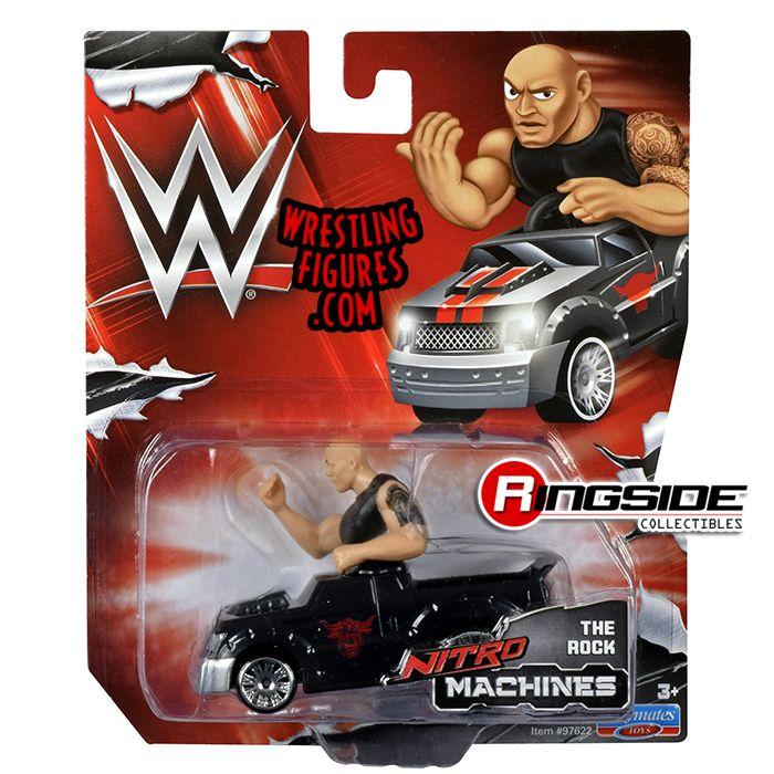 The Rock Wwe Nitro Machines Toy Wrestling Car By Playmates
