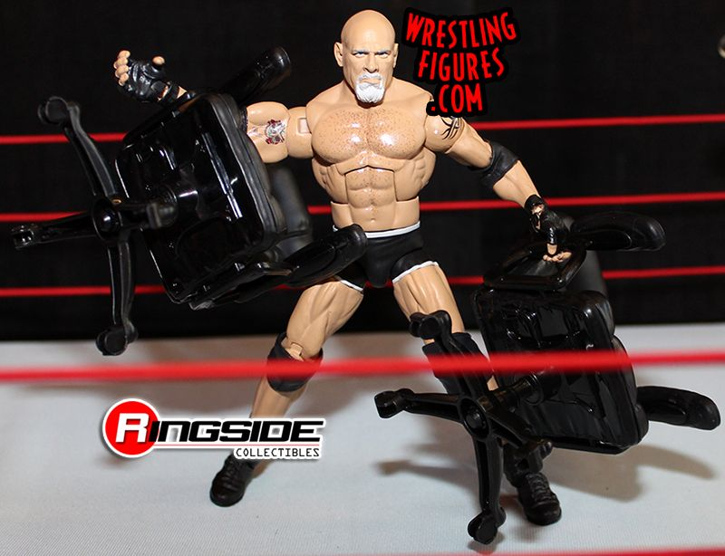 Image result for wwe main event ring goldberg