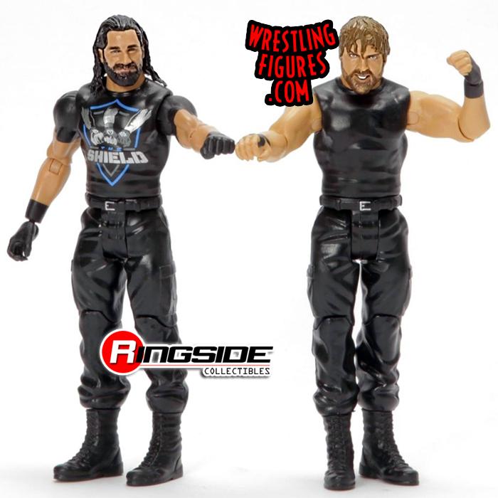 WWE DEAN AMBROSE SETH ROLLINS BATTLE PACK SERIES 59 MATTEL WRESTLING FIGURE AEW