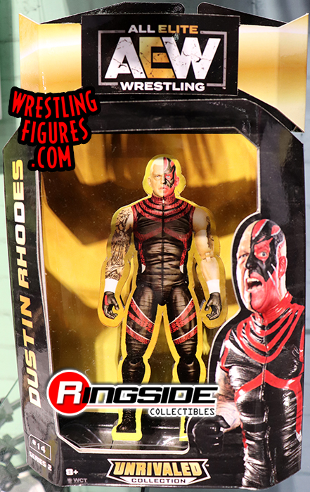 Dustin Rhodes AEW Unrivaled 2 Toy Wrestling Action