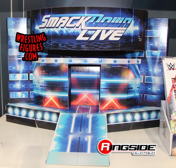Smackdown Entrance Stage Pop Up Wwe Toy Wrestling