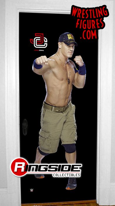 Hover to zoom  sc 1 st  Ringside Collectibles & John Cena - WWE Door Wrap by Photofile!